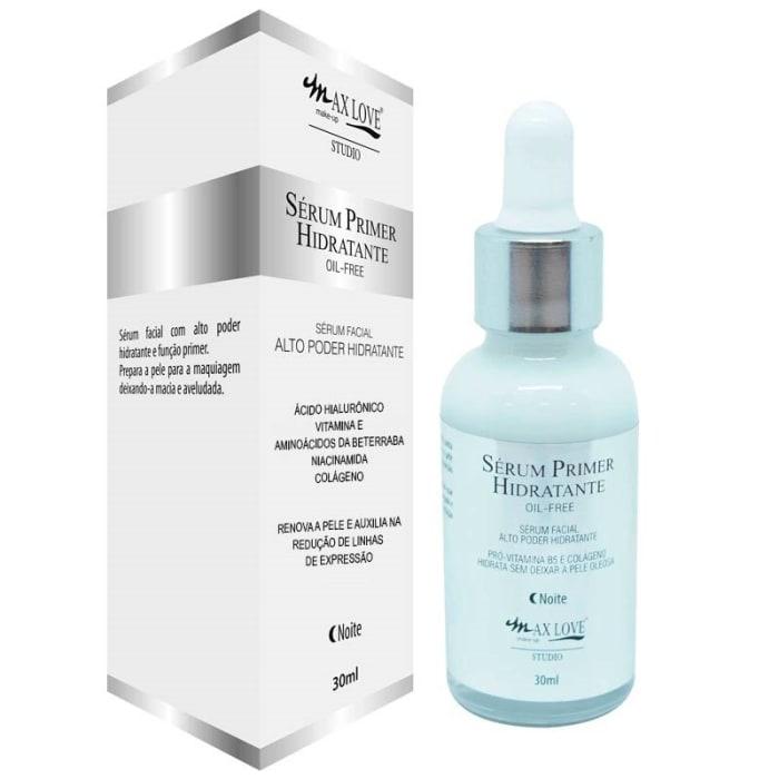 Kit c/6 Un -Sérum Facial Primer Hidratante Noite - Max Love (big)