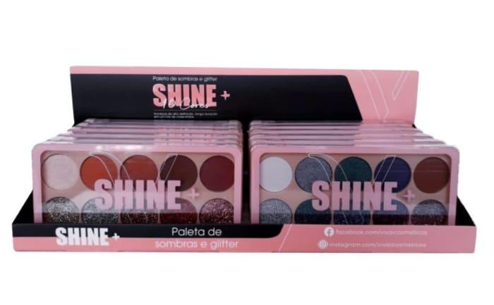 Box c/12 Un - Paleta de Sombras Shine 10 Cores - Vivai - 4026.4.1 (big)
