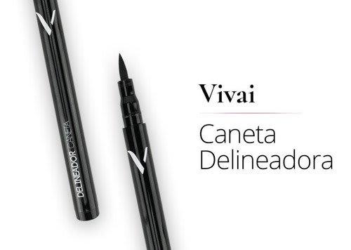 Caneta Delineadora Preta - Vivai - 2189.1.1 (big)