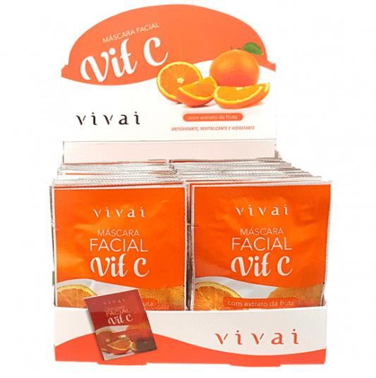 Box c/48 Un - Sachê Máscara Facial Vitamina C - Vivai - 5045.2.1 (big)