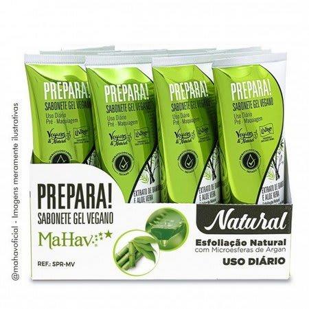 Box c/12 Un - Sabonete Gel Vegano Prepara Pré - Mahav - SPR-MV (big)