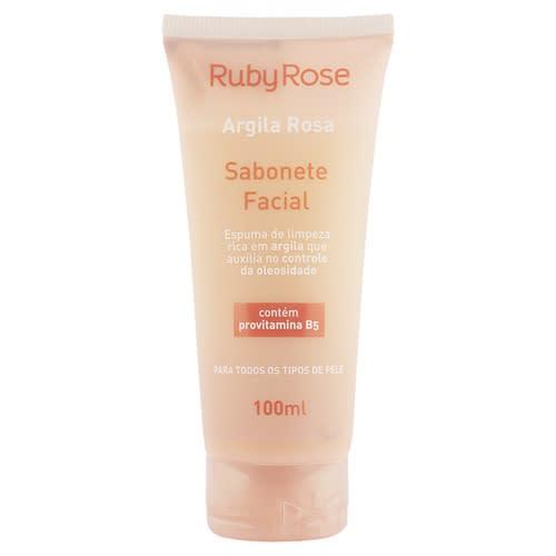 Sabonete facial Argila Rosa - Ruby Rose - Hb324 (big)
