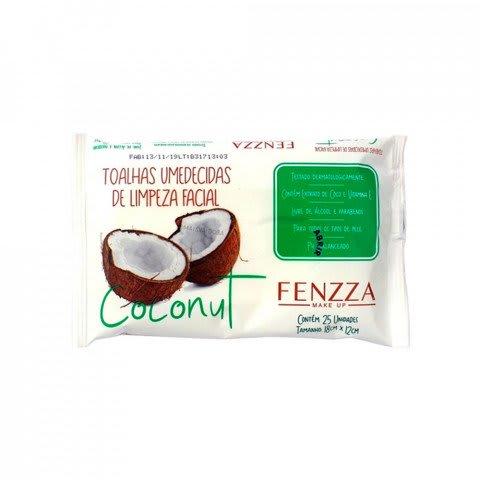 Toalhas Umedecidas de Limpeza Facial Coconut Fenzza - FZ51016 - 1 Pacote (big)