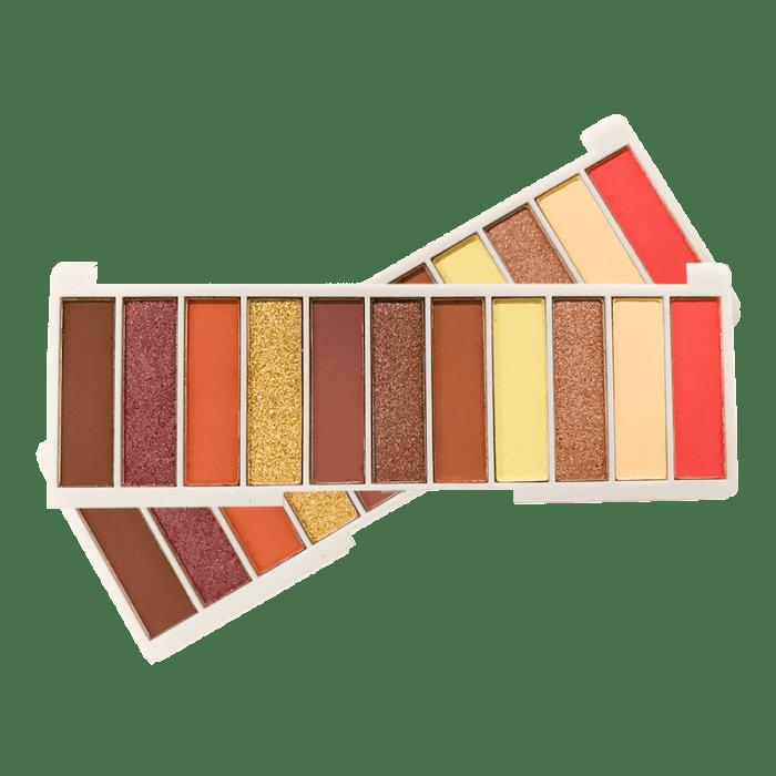 Kit c/4 Un - Paleta de Sombras 11 Cores Powerful Makeup - SP Colors - SP195 (big)
