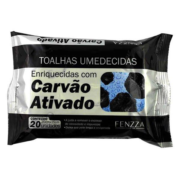 Toalha Umedecida Carvão Ativado -  Fenzza - FZ51015 - 1 Unidade (big)