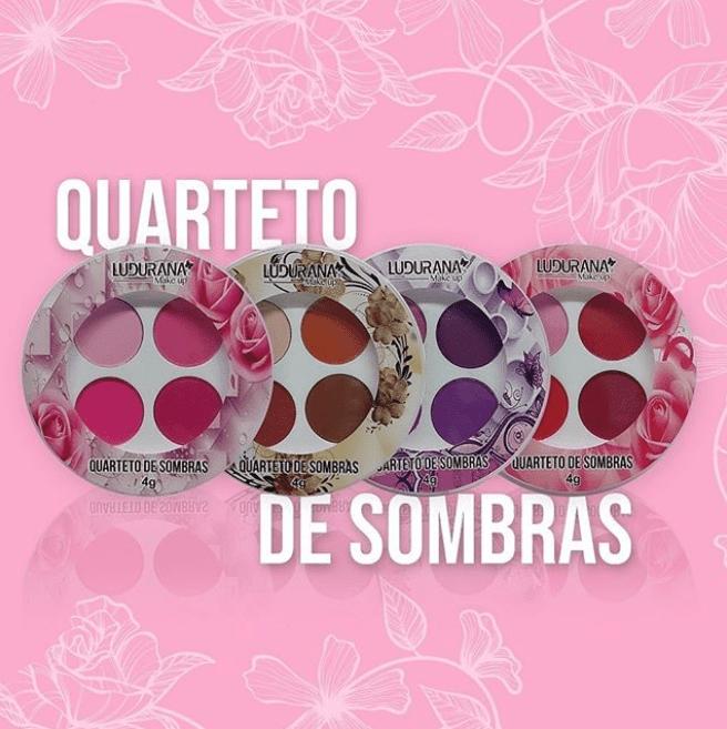 Kit c/4 Un - Quarteto de Sombras Nuances Ludurana - B00095 (big)
