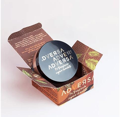 Pó translúcido Vegano  Chocolate Adversa - AD109 (big)