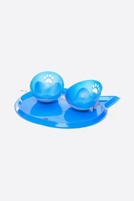 Kit-Potinho-Comedouro-Bebedouro-Azul-Truqys-Pets