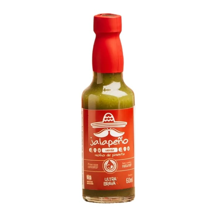 Molho de Pimenta Jalapeño (60 ml) - Ultra Brava