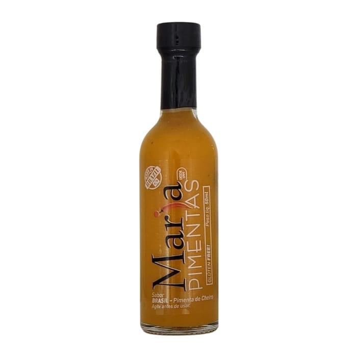 Amarelo Brasil Premium Molho de Pimenta de Cheiro Amarela Selecionada (50 ml) - Maria Pimentas