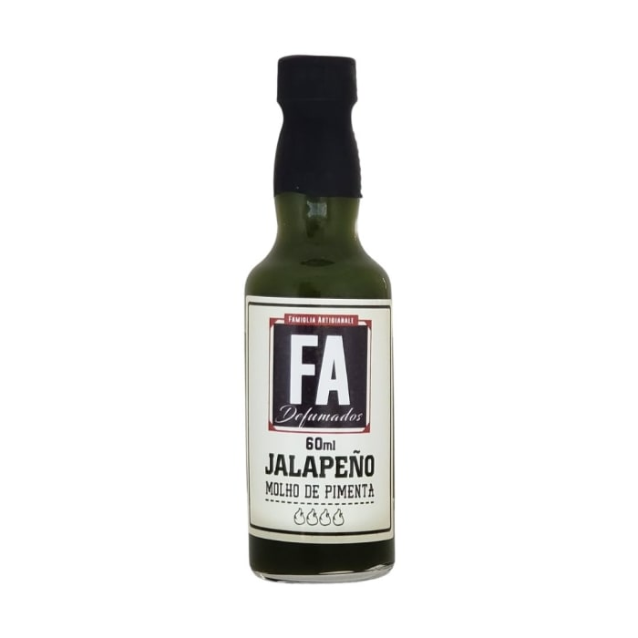 Molho de Pimenta Jalapeño (60 ml) - FA Defumados