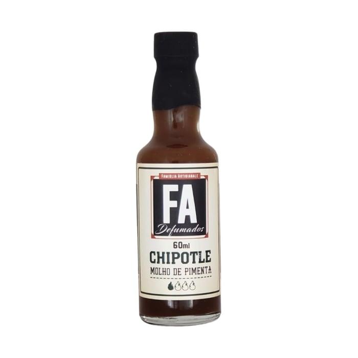 Molho de Pimenta Chipotle (60 ml) - FA Defumados