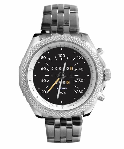 Velocímetro Carro Antigo 01 Relógio personalizado 5276 (0)