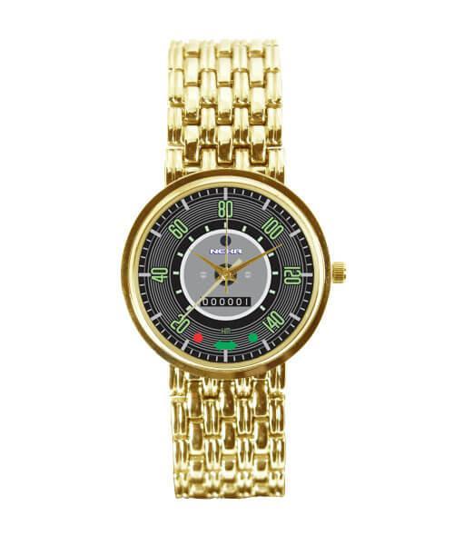 Relógio Dourado Velocímetro Fusca 140km 3330 (0)