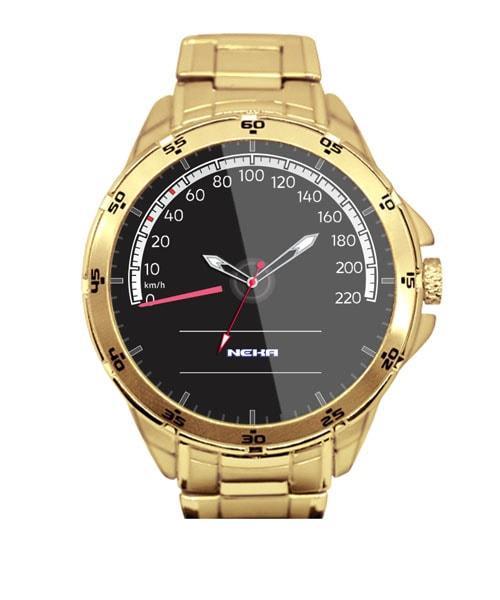 Velocímetro Up TSI Relógio Masculino Dourado 5776 (0)