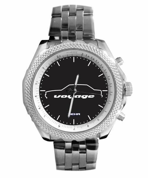 Relógio Masculino Personalizado Silhueta Voyage Quadrado 5276 (0)