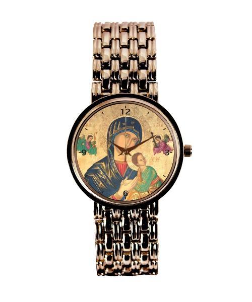Nossa Senhora do Perpétuo Socorro Relógio Personalizado Cobre 3330 (0)