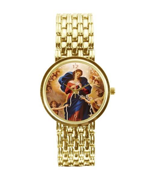 Nossa Senhora Desatadora dos Nós Relógio Feminino Dourado 3330 (0)