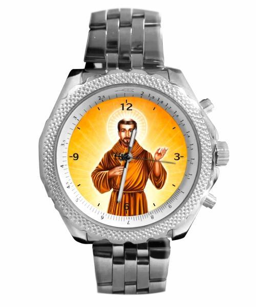 São Francisco de Assis Relógio Personalizado 5276 (0)
