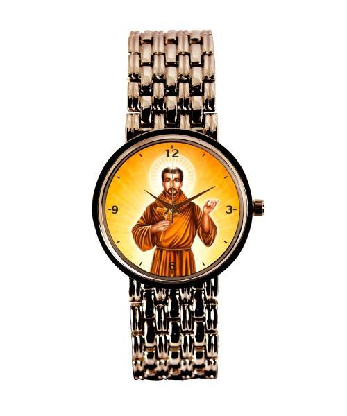 São Francisco de Assis Relógio Personalizado Feminino Cobre 3330 (0)