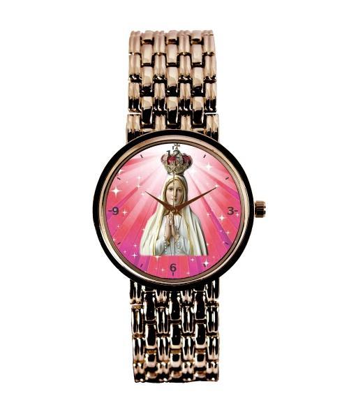 Nossa Senhora de Fátima Relógio Feminino Cobre 3330 (0)