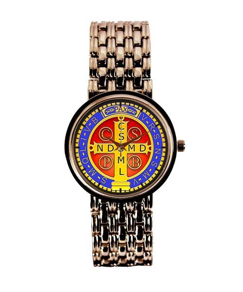 Medalha de São Bento Relógio Personalizado Feminino Cobre 3330 (0)