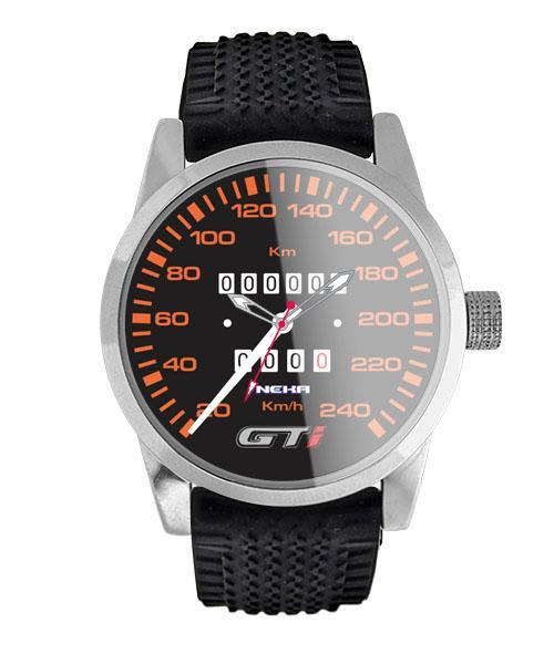 Relógio de Pulso Personalizado Painel Velocímetro Gol GTI 5028 (0)