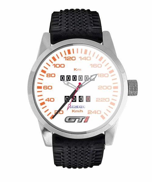 Relógio Personalizado Painel Gol GTI Fundo Branco 5028 (0)