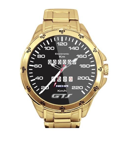 GOL GTS Velocimetro Relogio Dourado 5776 (0)