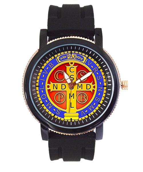 Medalha de São Bento Relógio Personalizado 5036 (0)