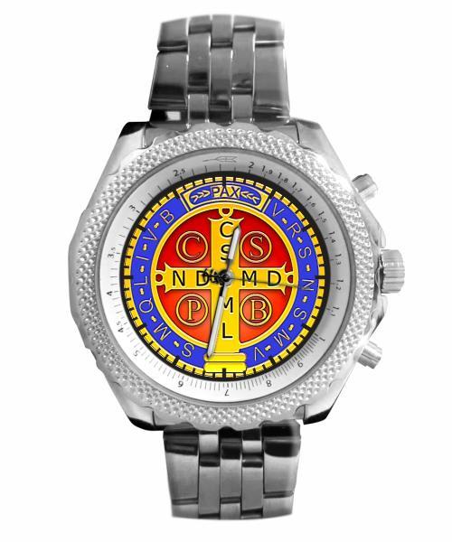Medalha de São Bento Relógio Personalizado 5276 (0)