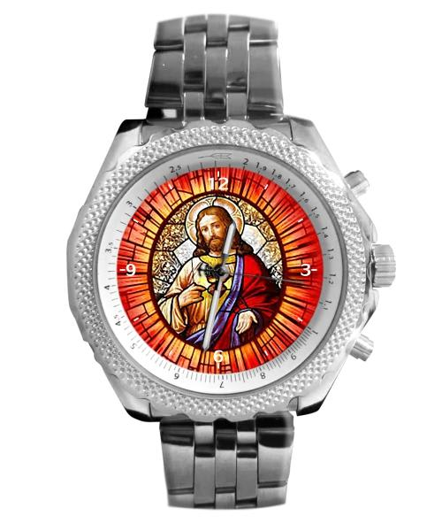 Sagrado Coração de Jesus Relógio Personalizado 5276 (0)