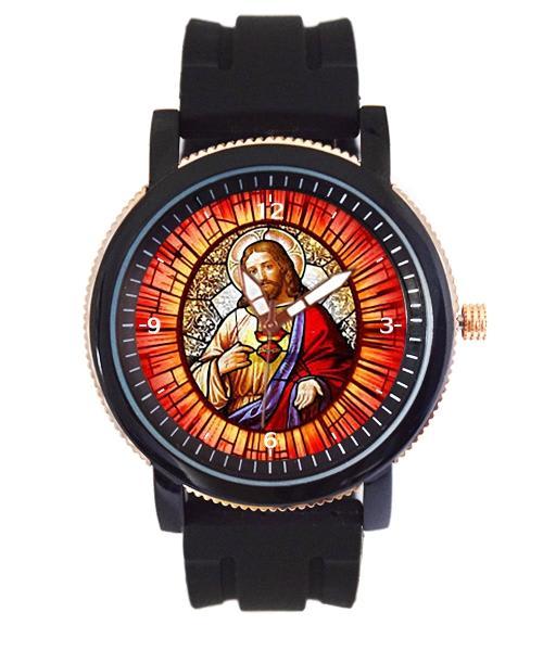 Sagrado Coração de Jesus Relógio Personalizado 5036 (0)