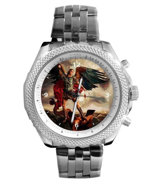 São Miguel Arcanjo Relógio Personalizado 5276 (0)
