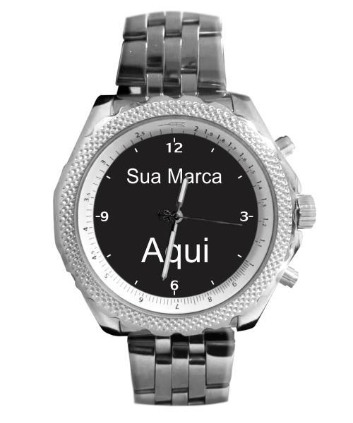 Relógio Com Logo Sua Marca Aqui Foto Imagem 5276 (0)