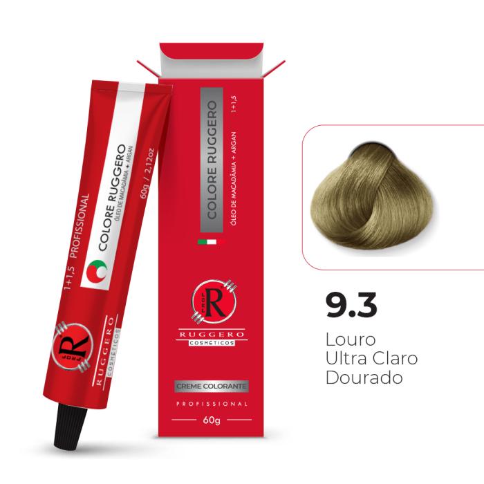 Colore 9.3 - Louro Ultra Claro Dourado - 60g