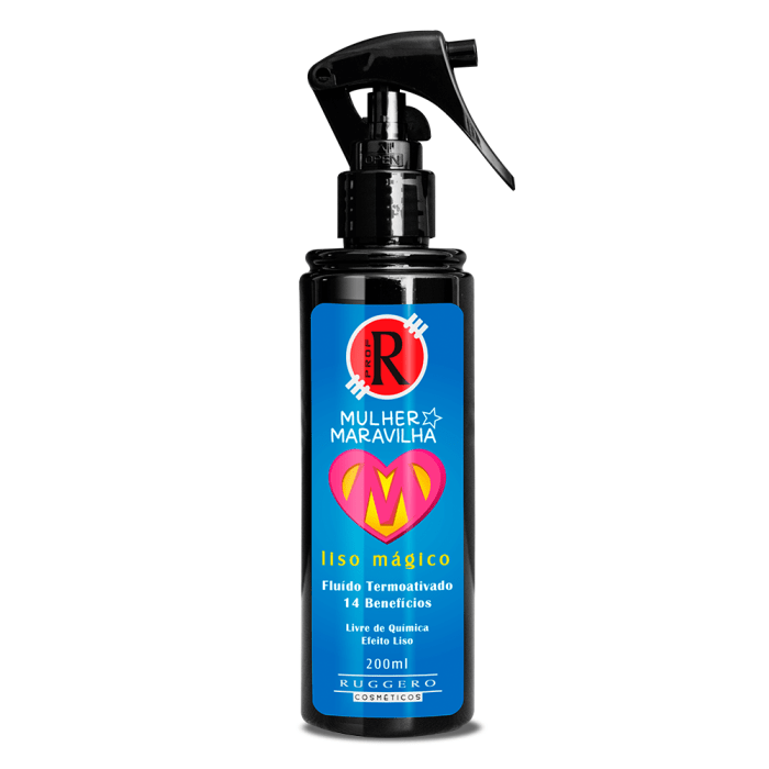 Leave-in Liso Mágico - Mulher Maravilha - 200ml