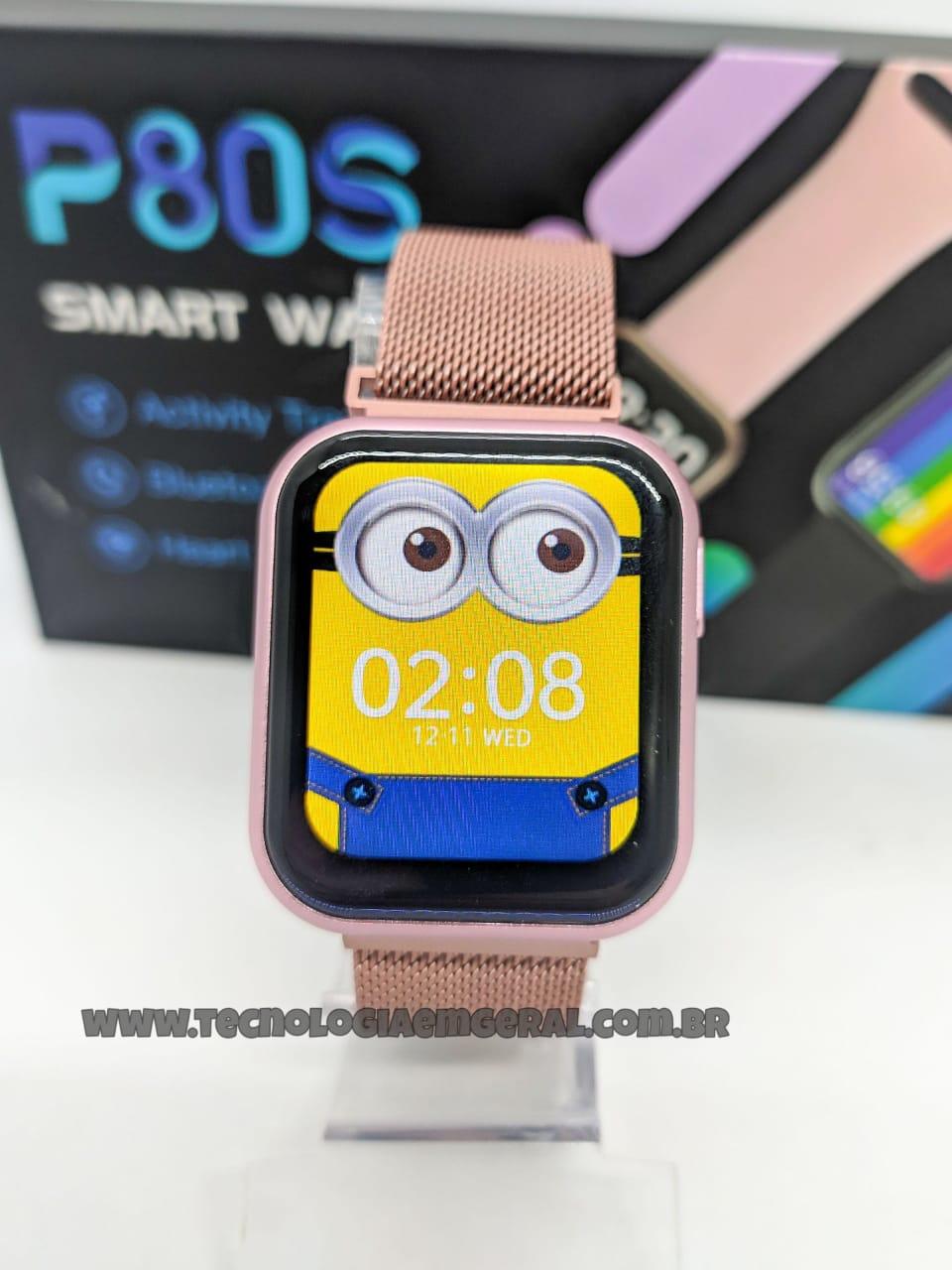 Relógio Smartwatch P80S