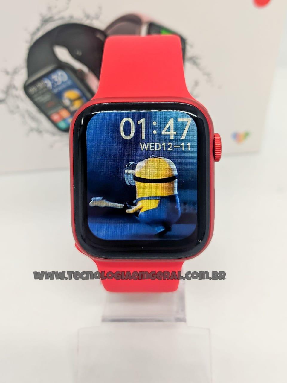 Relógio Smartwatch HW16- Vermelho ORIGINAL