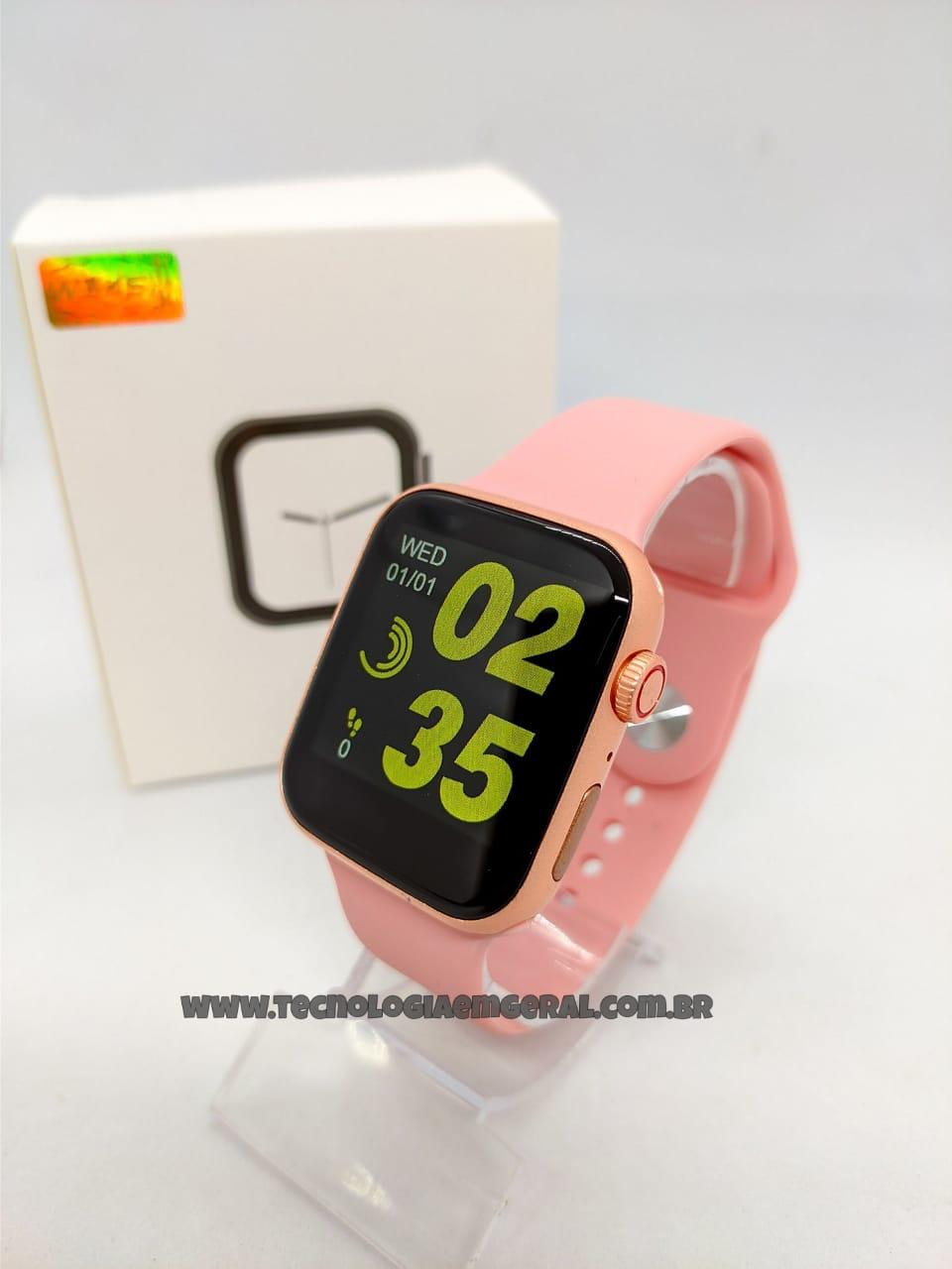 Relógio Smartwatch W34s-Rose