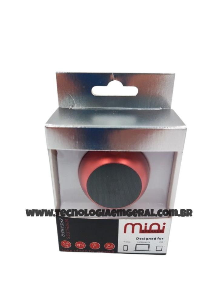 Caixinha Som Bluetooth Tws Metal Prata Mini Speaker Amplificada