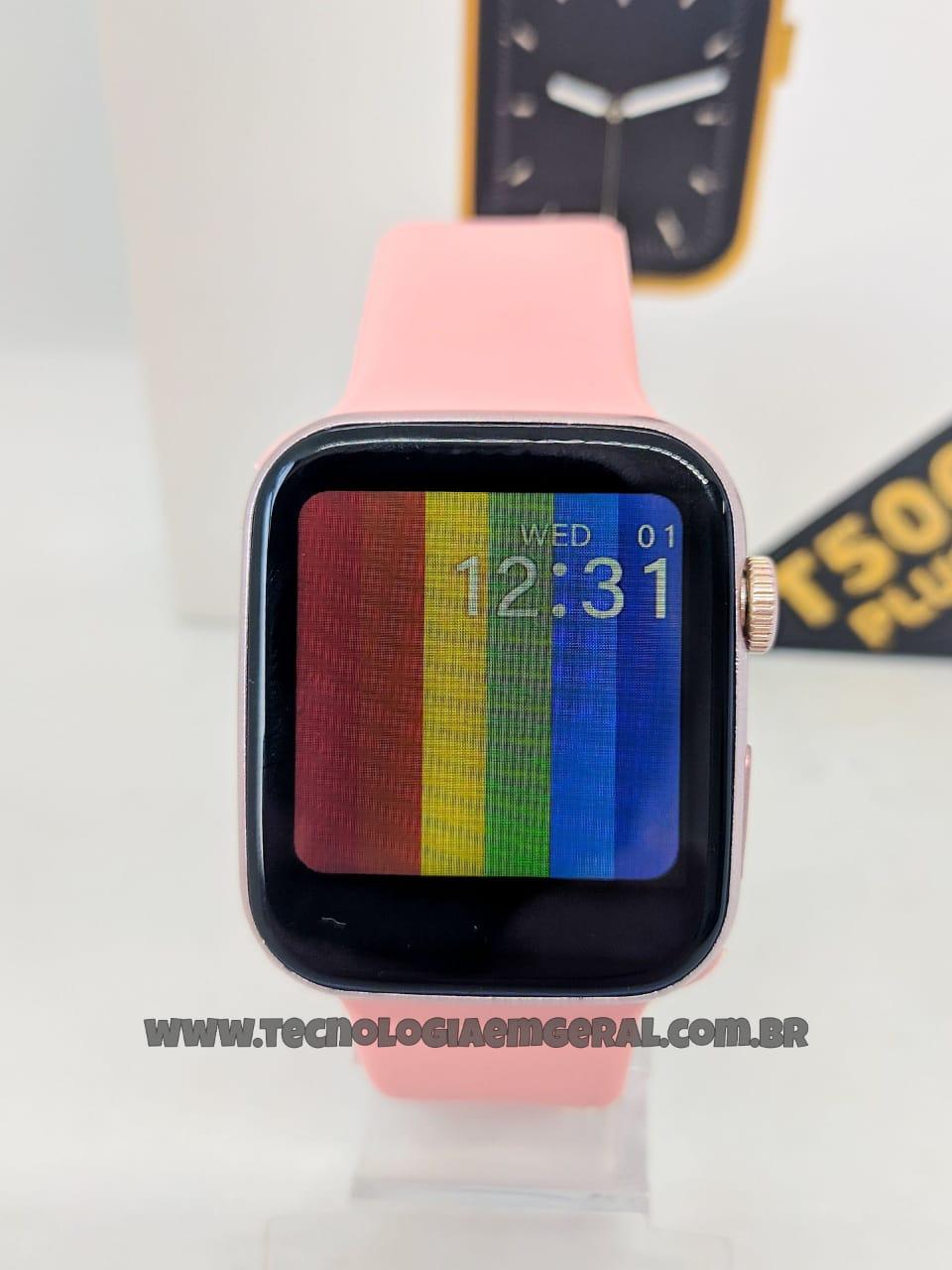 Relógio Inteligente Smartwatch T500 Plus -