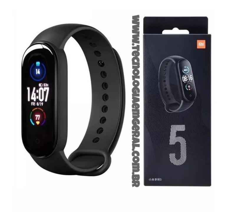 Pulseira Inteligente Relógio De Corrida Smartband M5