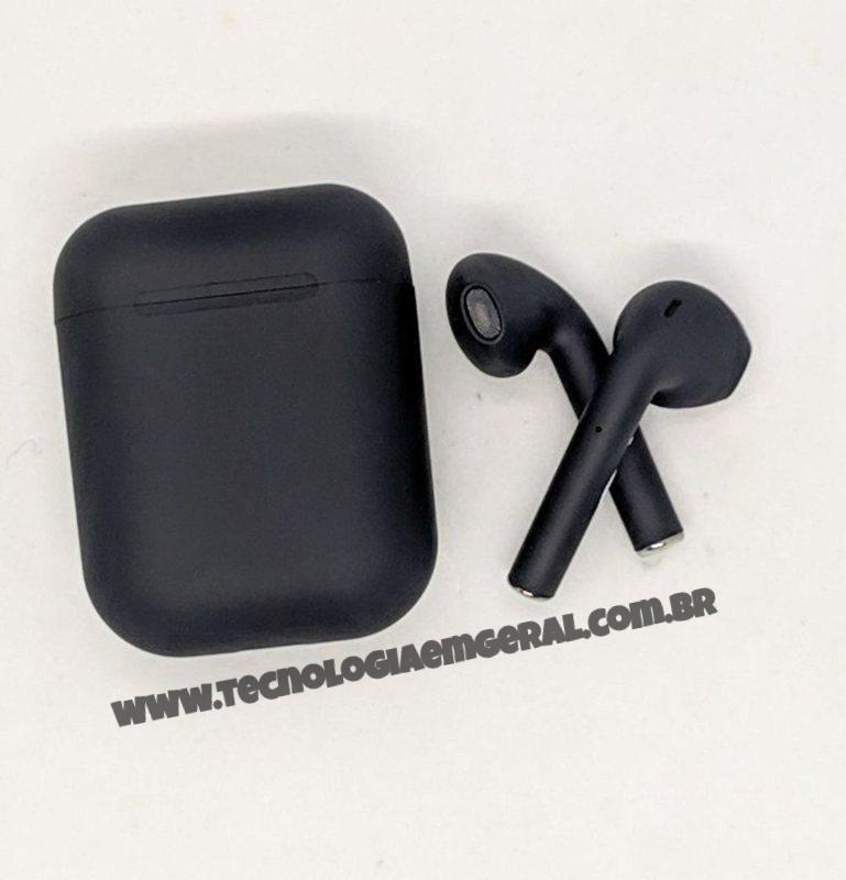 Inpods 12 Tws Macaron Fone De Ouvido Bluetooth 5.0