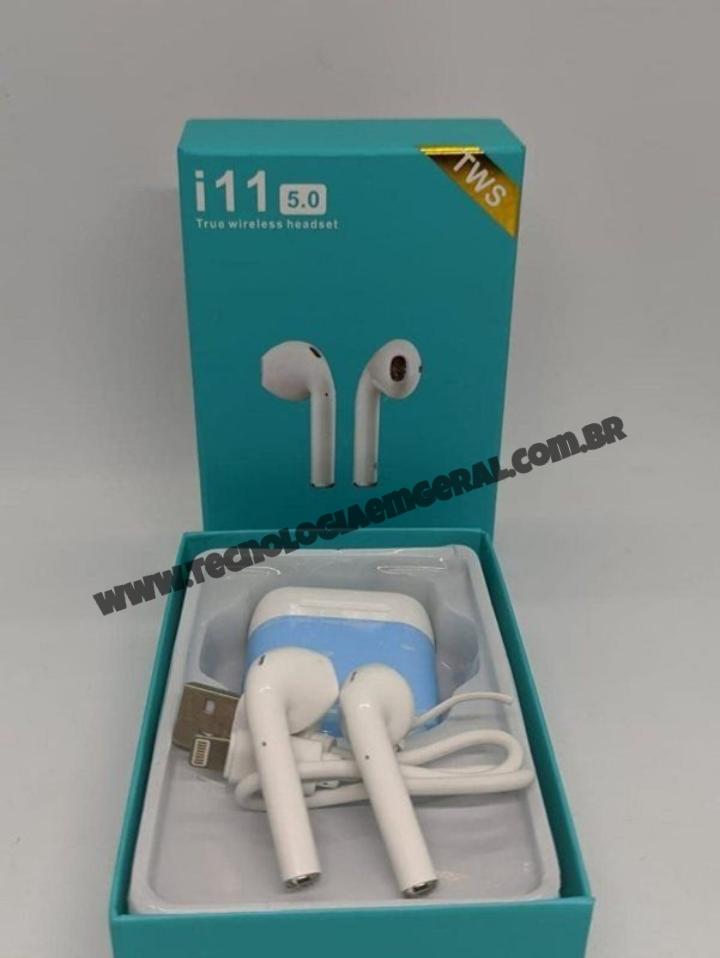 Fone de Ouvido Sem Fio Bluetooth I11 - TWS