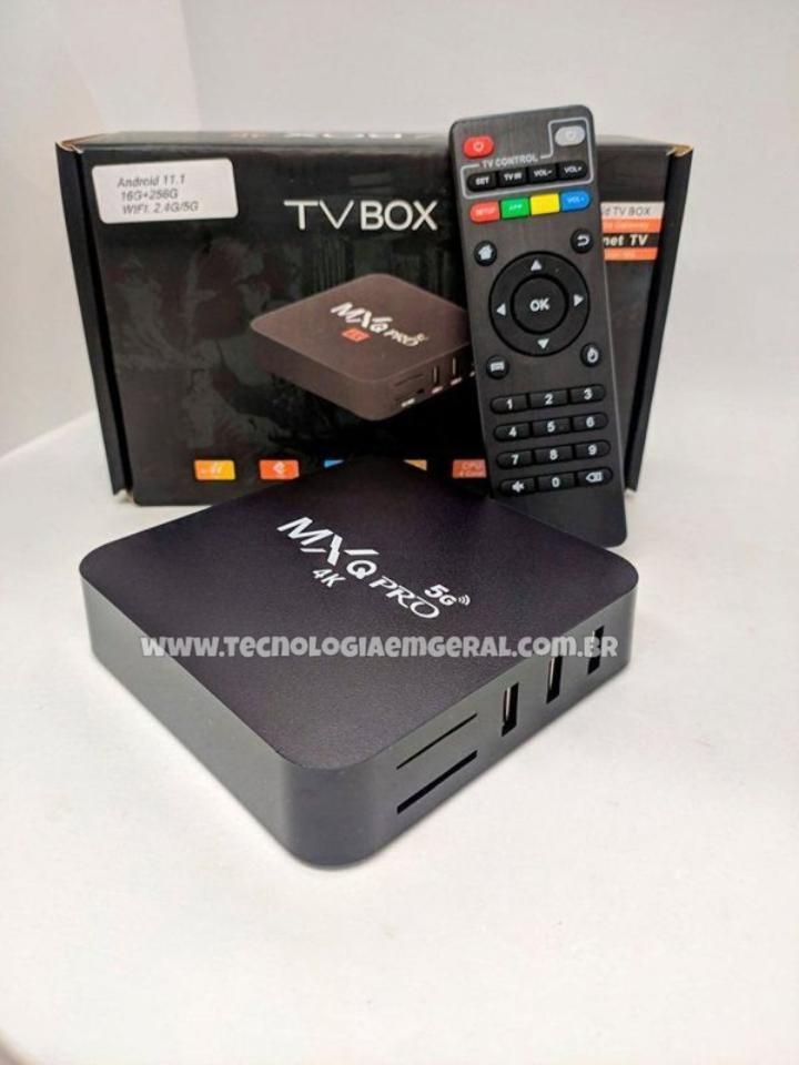 Tv Box MXQ 4k 128g e 8g Ram 5G