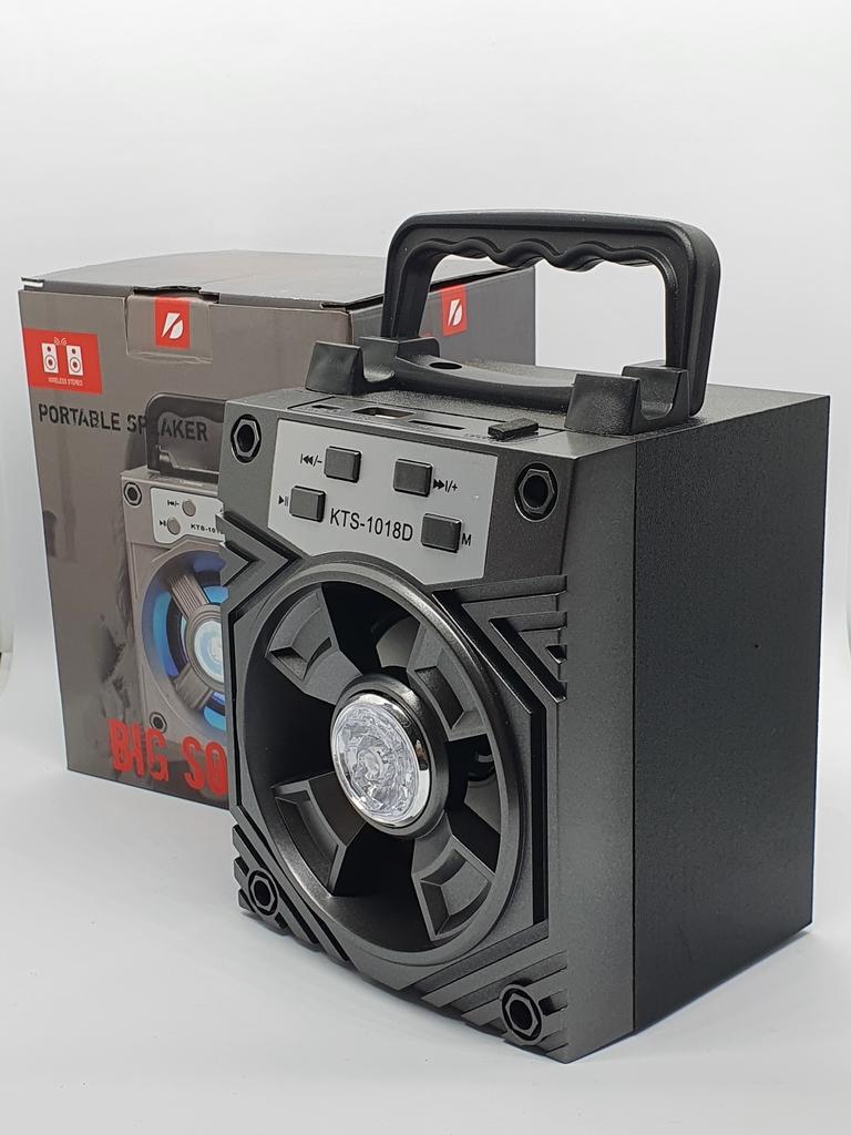 Caixinha Som Amplificada Portátil Mp3 Usb Micro Sd Rádio Fm - Cinza