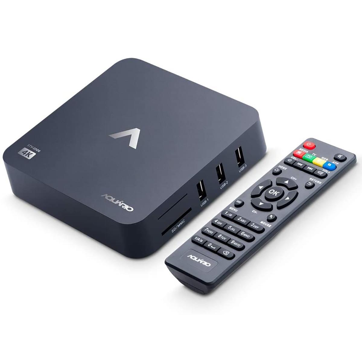 Smart TV Box Android STV-2000 AQUARIO.
