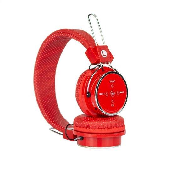 Fone De Ouvido B05 Wireless Mp3 Fm Bluetooth - vermelho.