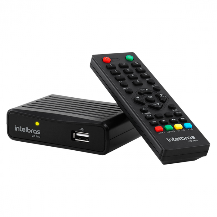 Conversor E Gravador Digital Full Hd Cd 700 - Intelbras